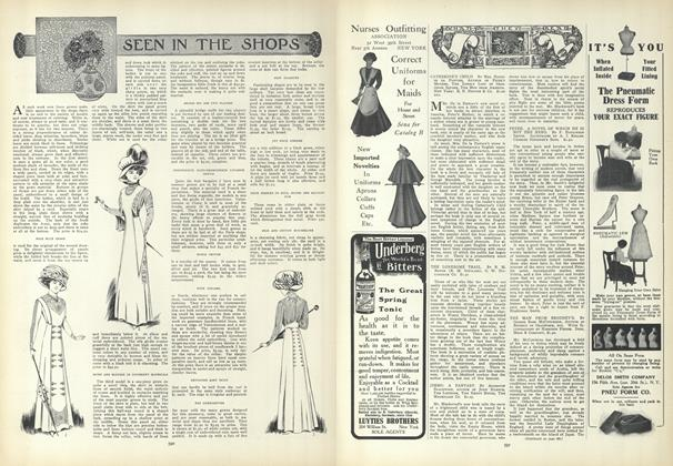 Article Preview: Seen in the Shops, April 1 1909 | Vogue