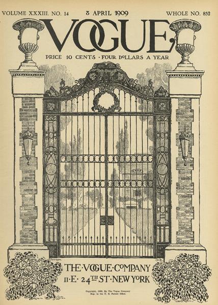 Issue: - April 8 1909 | Vogue