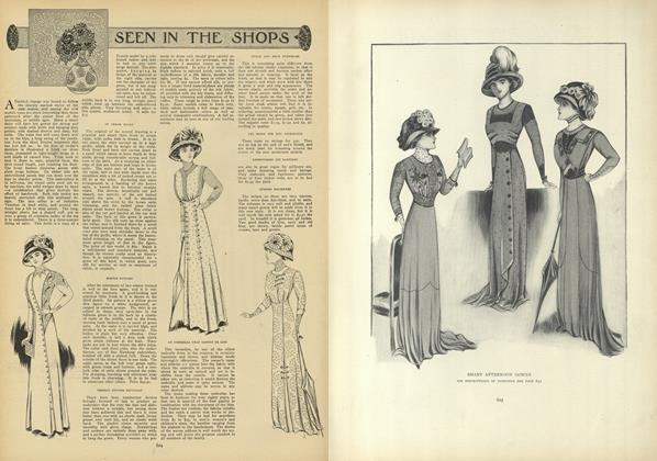 Article Preview: Seen in the Shops, April 8 1909 | Vogue