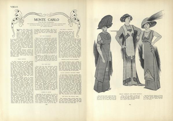 Article Preview: Monte Carlo, April 8 1909 | Vogue