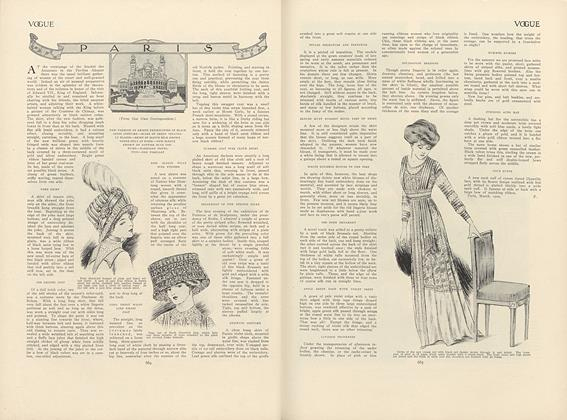 Article Preview: Paris, April 15 1909 | Vogue
