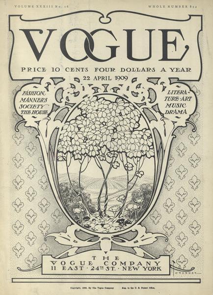 Issue: - April 22 1909 | Vogue