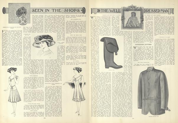 Article Preview: Seen in the Shops, April 22 1909 | Vogue
