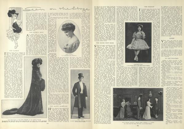 Article Preview: Seen on the Stage, April 22 1909 | Vogue
