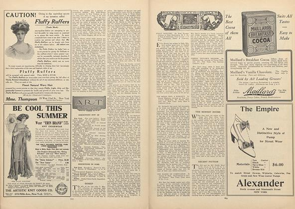 Article Preview: What They Read, April 29 1909 | Vogue