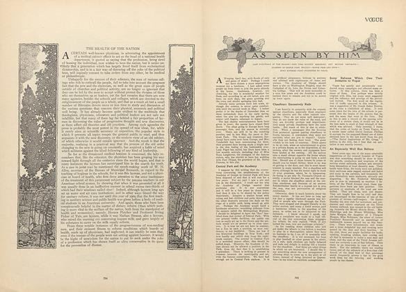 Article Preview: As Seen by Him, April 29 1909 | Vogue