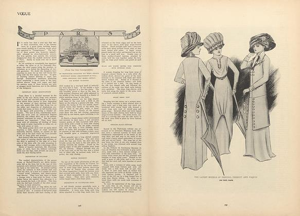 Article Preview: Paris, April 29 1909 | Vogue
