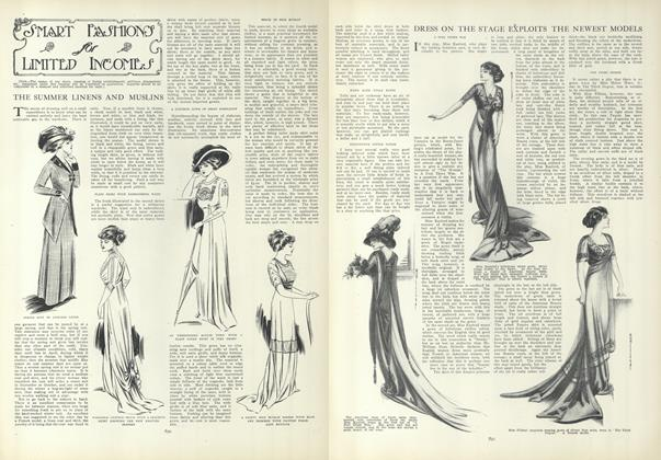 Article Preview: Dress on the Stage Exploits the Newest Models, May 6 1909 | Vogue