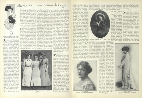 Article Preview: Seen on the Stage, May 13 1909 | Vogue