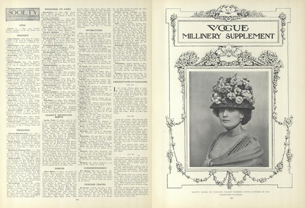Article Preview: Society, May 13 1909 | Vogue