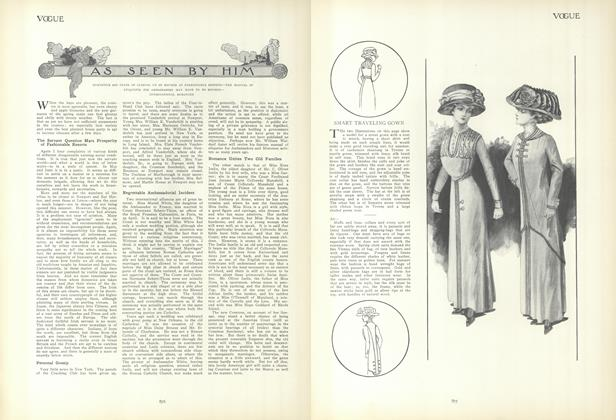 Article Preview: As Seen by Him, May 13 1909 | Vogue