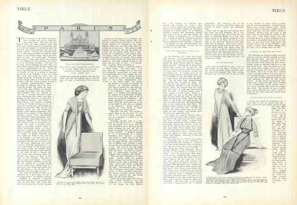 Article Preview: Paris, May 13 1909 | Vogue
