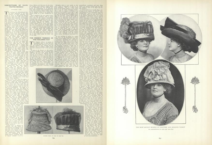 The French Version of the Tailored Hat