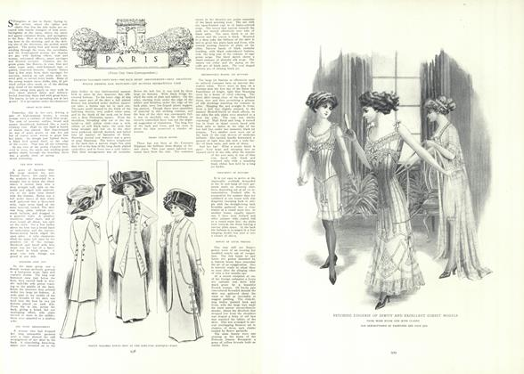 Article Preview: Paris (From Our Own Correspondent), May 20 1909 | Vogue