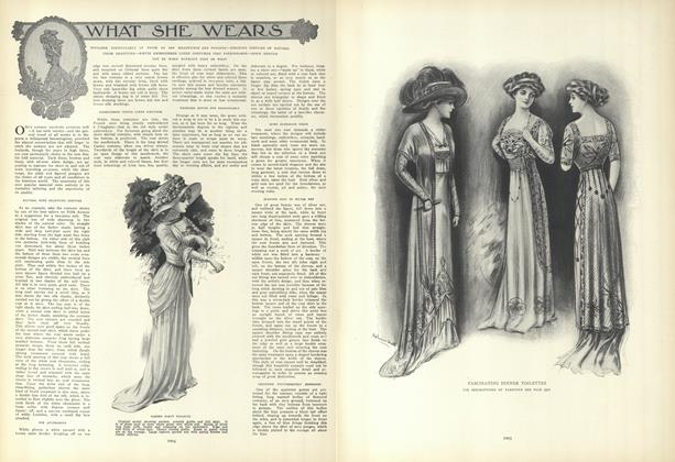 Article Preview: What She Wears, May 27 1909 | Vogue