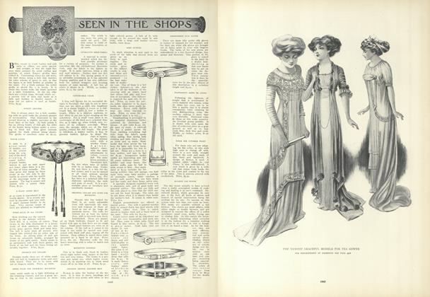 Article Preview: Seen in the Shops, May 27 1909 | Vogue