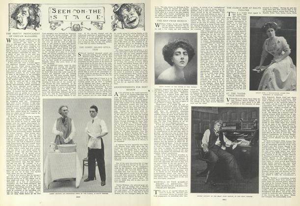 Article Preview: Seen on the Stage, May 27 1909 | Vogue