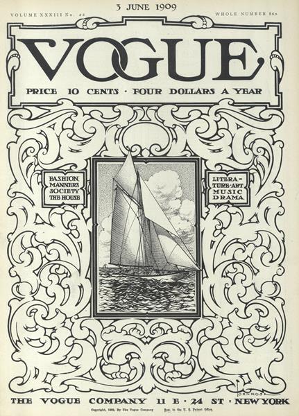 Issue: - June 3 1909 | Vogue