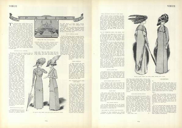 Article Preview: Paris, June 3 1909 | Vogue