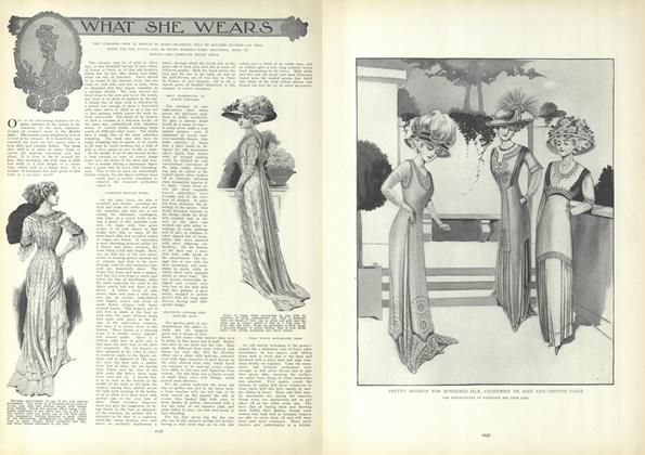 Article Preview: What She Wears, June 3 1909 | Vogue