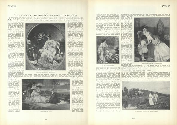 Article Preview: The Salon of the Societe Des Artistes Francais, June 3 1909 | Vogue