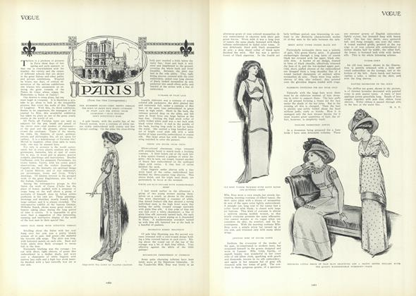 Article Preview: Paris, June 10 1909 | Vogue