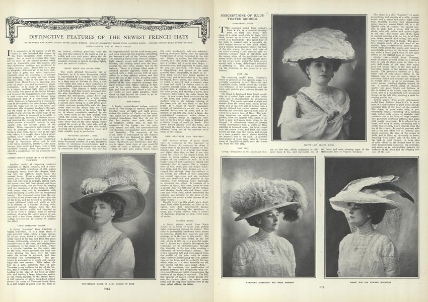 Distinctive Features of the Newest French Hats