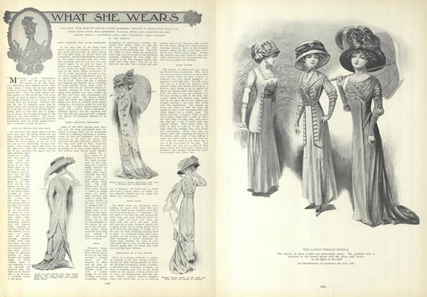 Article Preview: What She Wears, June 17 1909 | Vogue