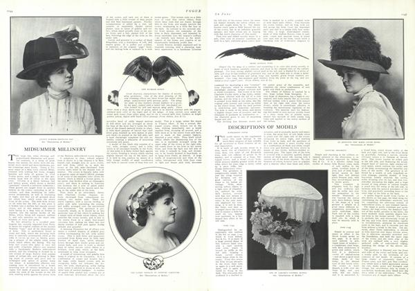 Article Preview: Mid-Summer Millinery, June 24 1909 | Vogue