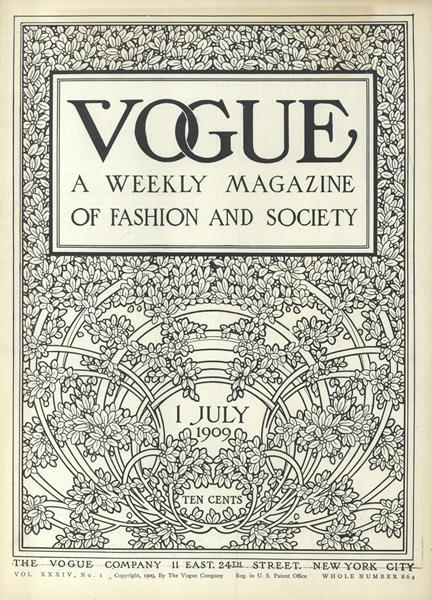 Issue: - July 1 1909 | Vogue