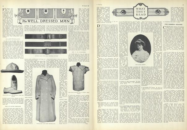 Article Preview: The Well Dressed Man, July 1 1909 | Vogue