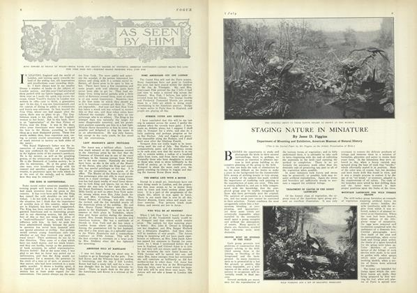Article Preview: Staging Nature in Miniature, July 1 1909 | Vogue