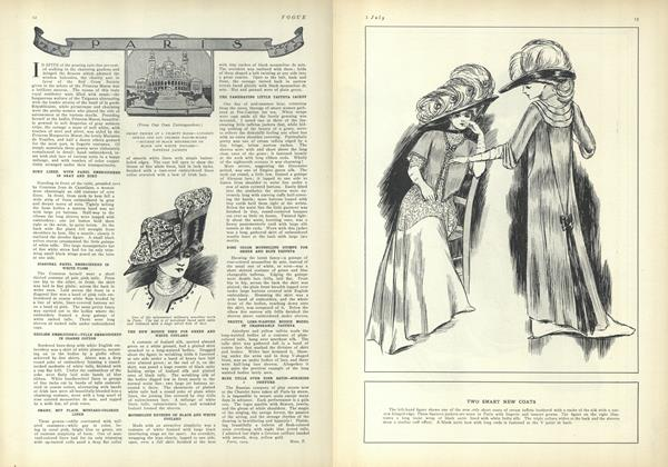 Article Preview: Paris (From Our Own Correspondent), July 1 1909 | Vogue