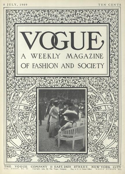 Issue: - July 8 1909 | Vogue