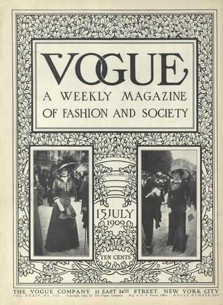 Issue: - July 15 1909 | Vogue