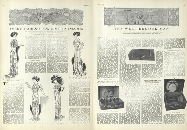 Article Preview: Smart Fashions for Limited Incomes, July 15 1909 | Vogue