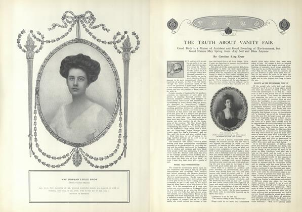 Article Preview: The Truth About Vanity Fair, July 15 1909 | Vogue