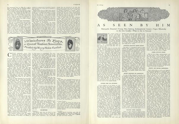 Article Preview: As Seen by Him, July 15 1909 | Vogue