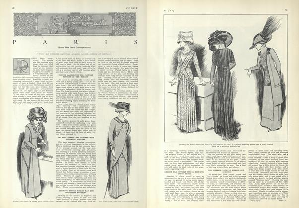 Article Preview: Paris (From Our Own Correspondent), July 15 1909 | Vogue