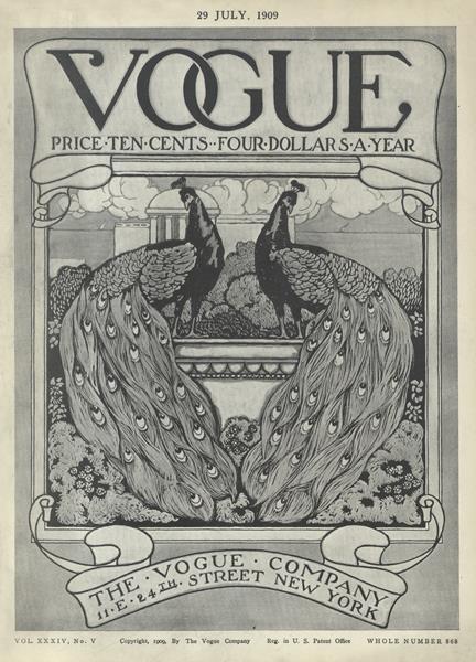 Issue: - July 29 1909 | Vogue