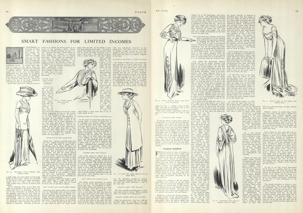 Article Preview: Vogue Points, July 29 1909 | Vogue