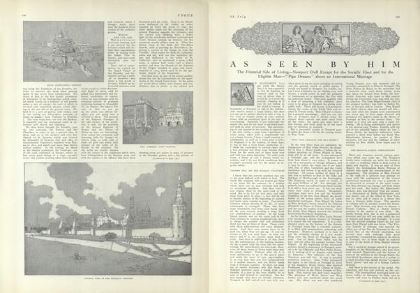 Article Preview: As Seen by Him, July 29 1909 | Vogue