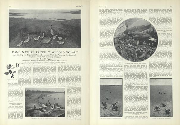 Article Preview: Dame Nature Prettily Wedded to Art, July 29 1909 | Vogue