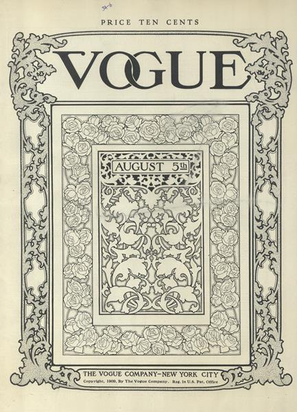Issue: - August 5 1909 | Vogue