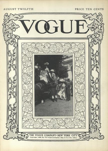 Issue: - August 12 1909 | Vogue