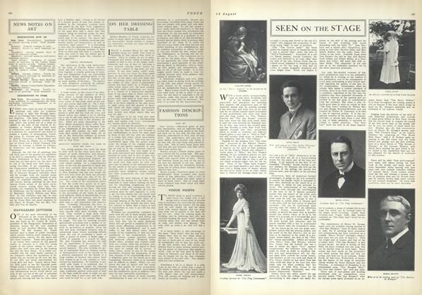 Article Preview: News Notes on Art, August 12 1909 | Vogue