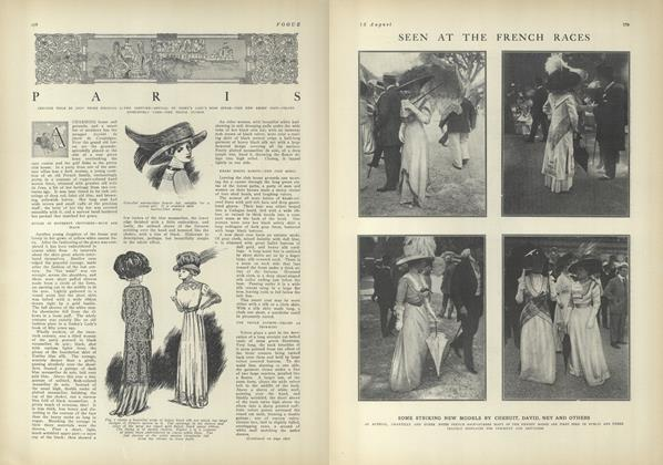 Article Preview: Paris, August 12 1909 | Vogue
