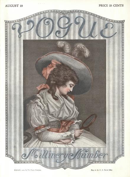 Issue: - August 19 1909 | Vogue