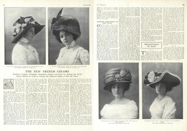 Descriptions of Hats