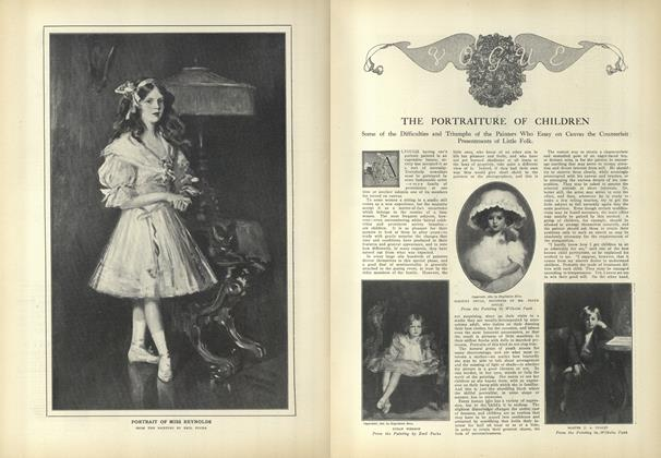 Article Preview: The Portraiture of Children, September 11 1909 | Vogue